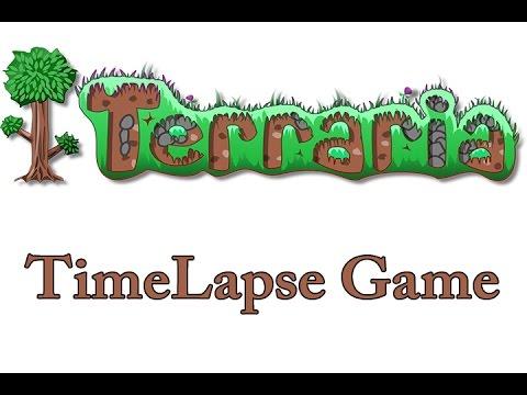 Terraria 1.3.0.8 #1(TimeLapse Game)  
