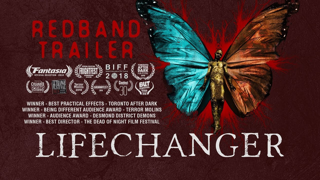 Lifechanger (REDBAND trailer - shapeshifter horror movie)