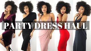 Asos Party Dress Haul, Unboxing, Try On & Help Me Pick! | Samio