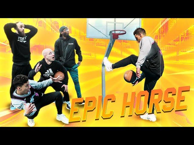 HORSE DE FOLIE AVEC BRISCO, HOOPSIDIA ET EDDIE DAVID !!