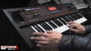 Roland Juno Di Performed by S4K TV - ( space4keys )