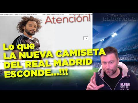 """La Camiseta del Real Madrid """"Human Race"""" esconde algo que debes conocer..."""