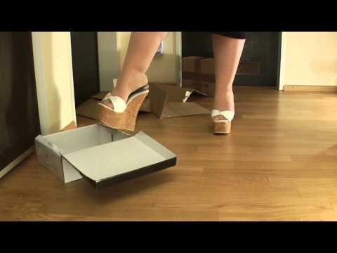 Candid high heel shoe dangle breathtaking - 2 8