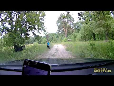 Деревни и дороги в центральной части России