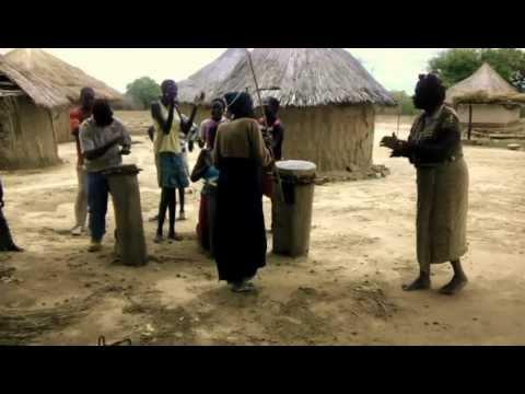 Zimbabwe Celebration during Relief Supply Distribution