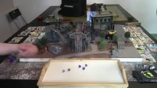 Batman Miniature Game peliraportti / Battle Report