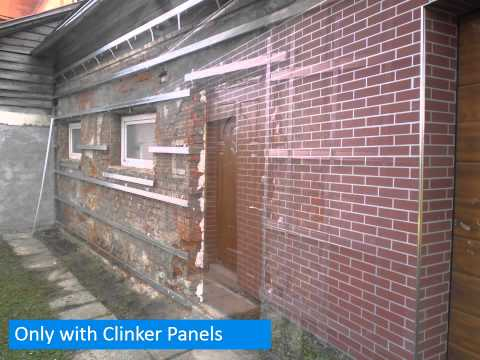 Clinker Panels - new facade in two days!