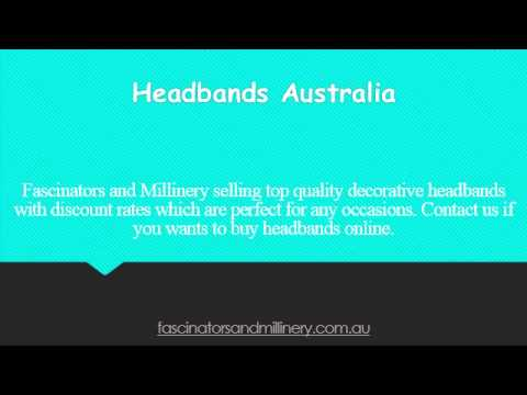 Fascinators and Millinery in Australia
