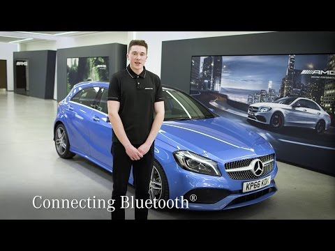 How To Connect In Car Bluetooth® Devices | Mercedes-Benz Cars UK