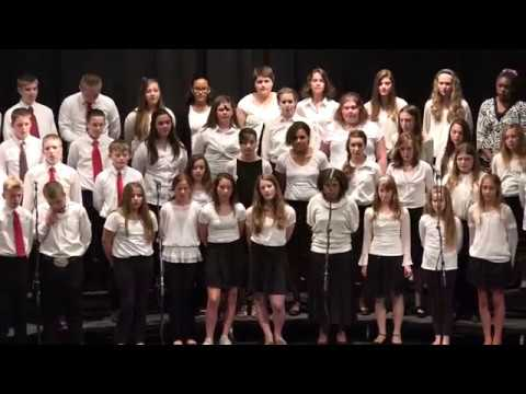 """""""Be Back Soon"""" by the Cedarville Middle School Choir"""