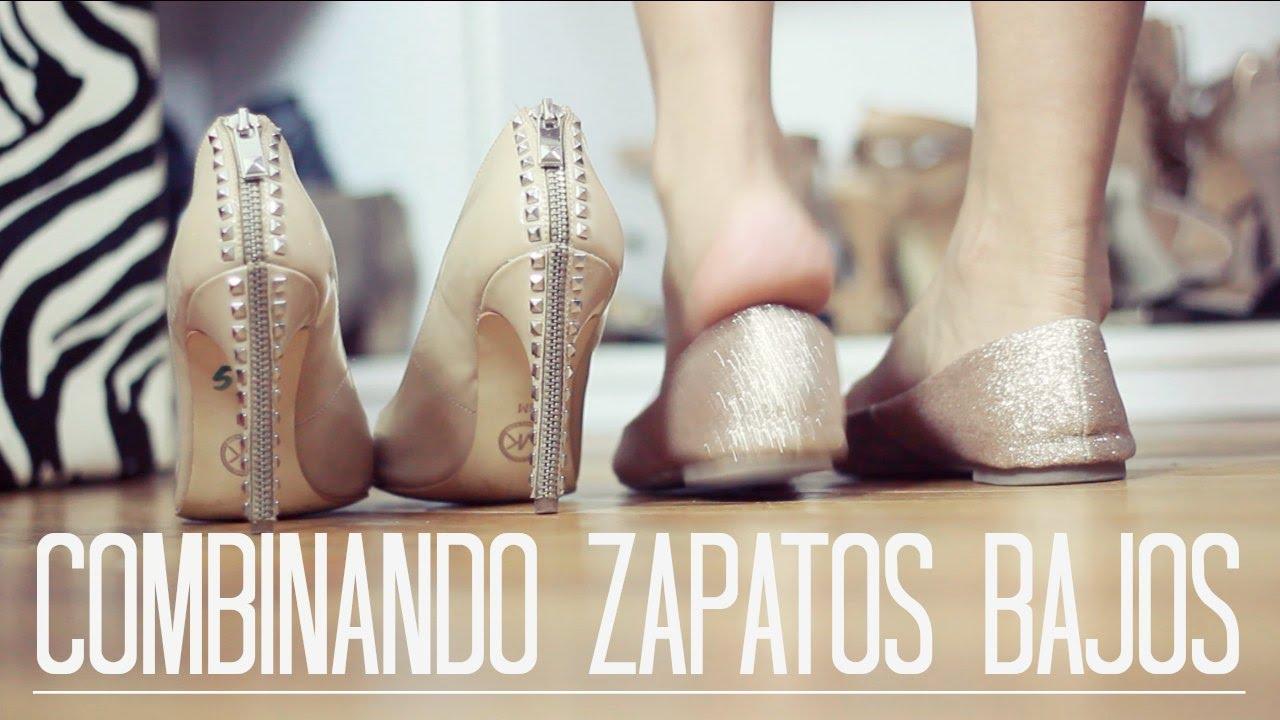 Vestidos cortos con zapatos bajitos