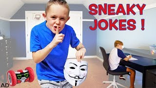 Sneaky Jokes (and Spying) on My Family! With a Robot! Turbo Bot!
