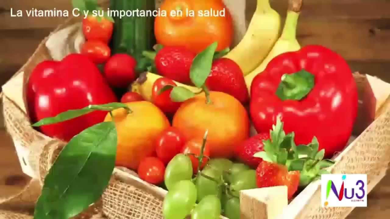 vitaminas importancia en la salud
