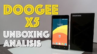 doogee x5 en espaol unboxing review