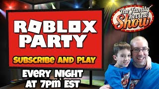 Thursday Night Roblox Party | Most Incredible Night Ever!