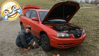Fixing My Girlfriend's Car