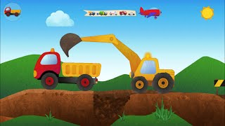 Tony The Truck  - Mini Mighty Machines - App for Kids: Diggers, Cranes, Bulldozer