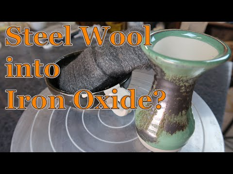 Making Iron Oxide with Steel Wool - Experimental