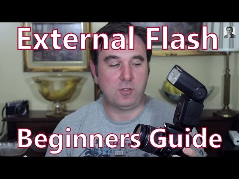 Beginners Guide To External Flash For Your dSLR, Manual & Automatic