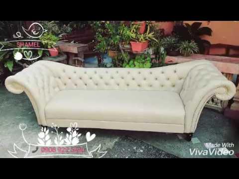 A classic 4 seater cleopatra Sofa
