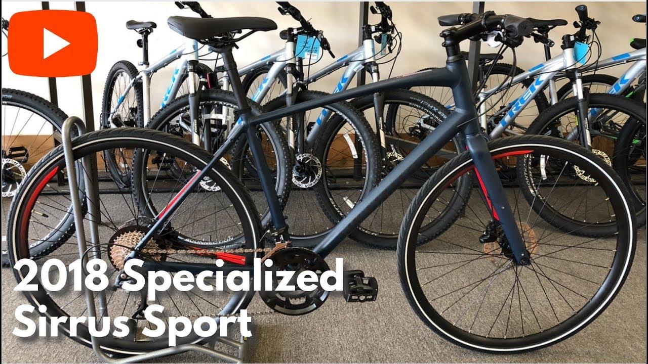 dd3fc54b851 2018 Specialized Sirrus Sport - Not your average hybrid - YouTube