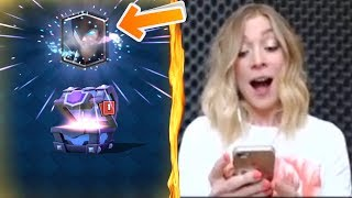 Top 5 MOST INSANE Chest Opening Reactions In Clash Royale | Best Legendary Cards Reactions #8