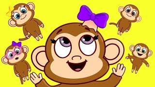 Five Little Monkeys 2018 - Starbuddies
