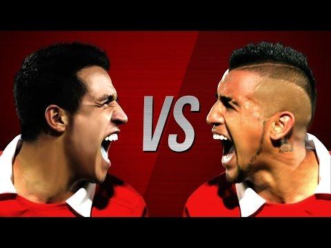 Alexis Sánchez vs Arturo Vidal ¿Quién gana?