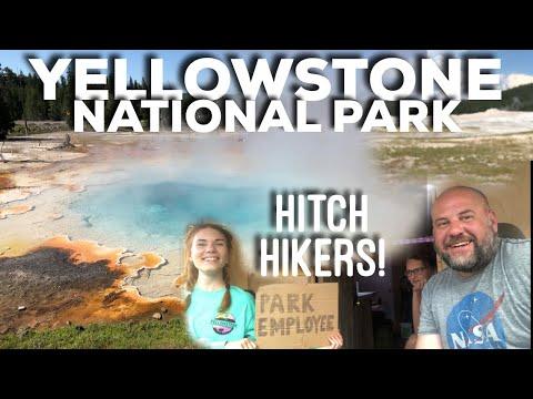 I GO TO YELLOWSTONE! National Park, FINALLY! VLOG #124