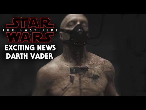 Thumbnail: Star Wars The Last Jedi Exciting News Of Darth Vader! Spoilers