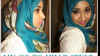 My Go-To Hijab Style (great with blazers, cardigans & maxi dresses) Thumbnail