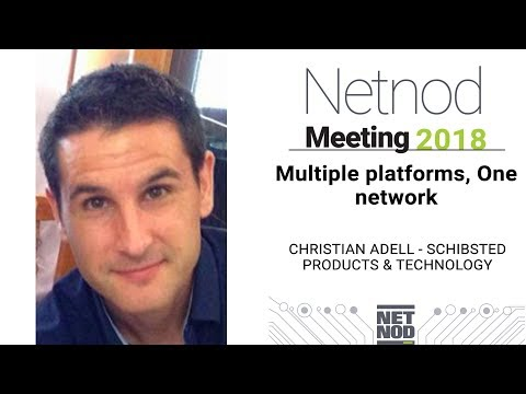 Multiple platforms, one network, Christian Adell