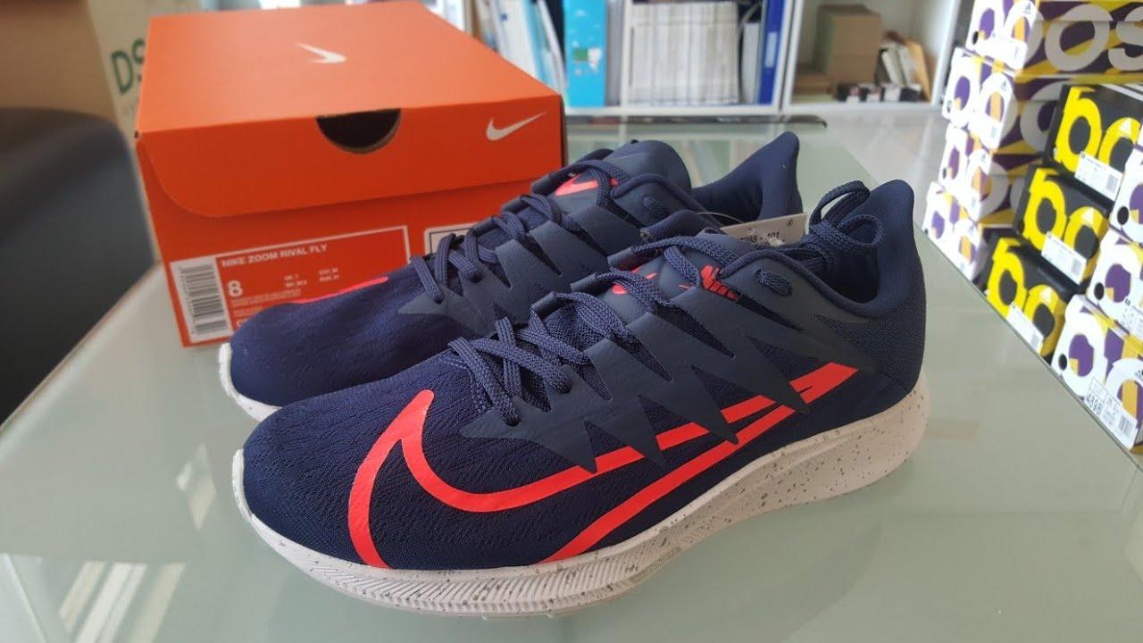Nike Zoom Rival Fly Ekiden Navy - YouTube