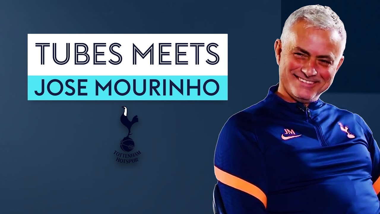 'Gareth is a special situation' 🤩 | Tubes Meets Jose Mourinho