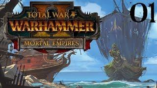 SB Drowns The Mortal Empires 01 - Cylostra Direfin (Total War: Warhammer Mortal Empires Gameplay)
