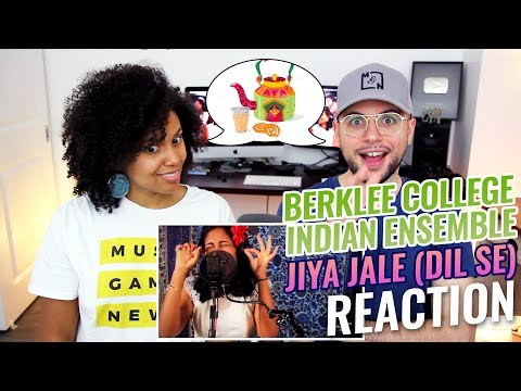 A. R. Rahman - Jiya Jale (Dil Se) | Berklee College Indian Ensemble Cover | REACTION