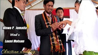 THE BEST CHRISTIAN WEDDING EVER IN FULLY CINEMATIC STYLE NAMED BISWA P. WEDS LAXMI.
