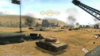 Panzer Elite Action Dunes of War (PC) Gameplay