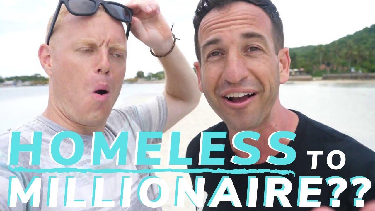 Homeless to Millionaire Making Money Online Traveling the World