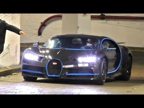 $3.5Million Full Carbon Arab BUGATTI CHIRON in London!