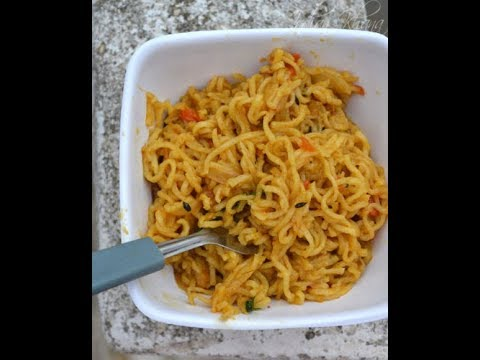 How to make Maggi in Microwave