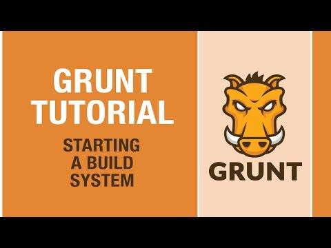 GRUNT TUTORIAL - Grunt makes your web development better!
