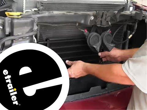 Derale Engine Oil Cooler Installation - 2009 Dodge Ram - etrailer.com