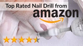 Top Rated Amazon Nail Drill Review - Madenia  Electric Nail File