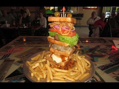 Octuple bypass burger