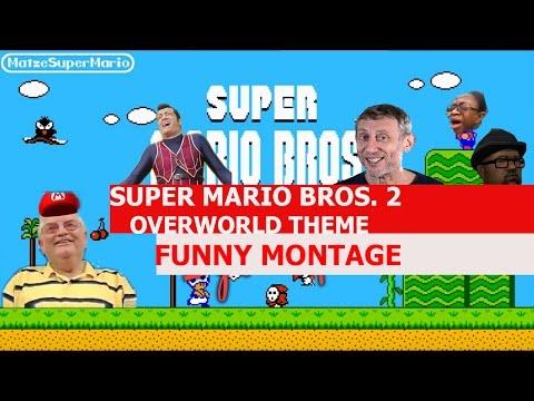 Super Mario Bros 2 Overworld Theme Remix  FUNNY MONTAGE