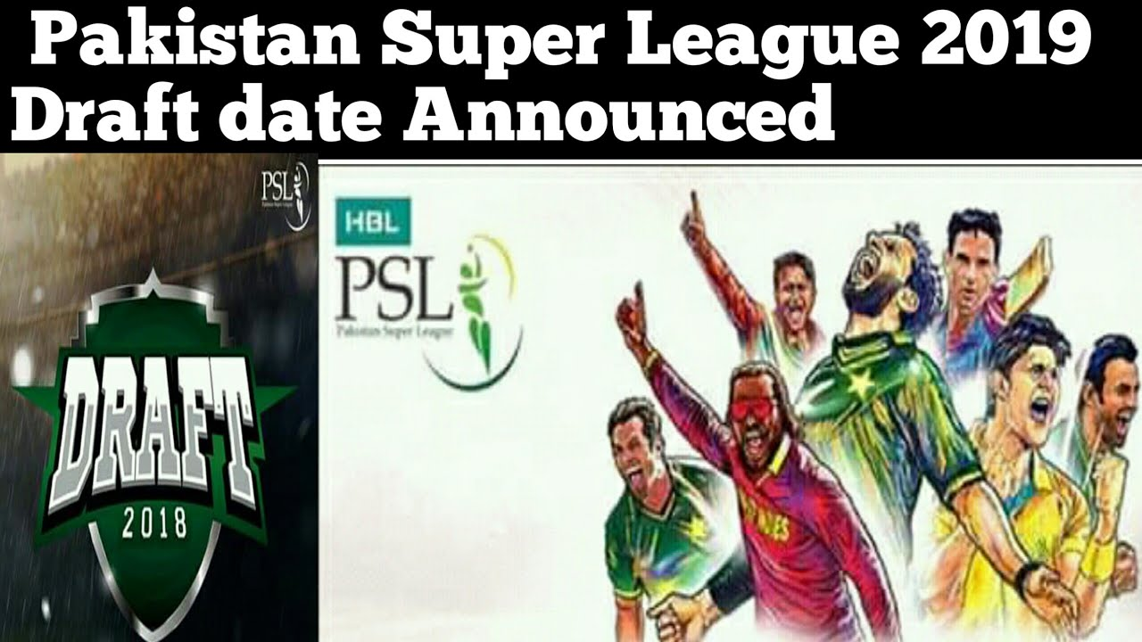 PCB announced Pakistan super league 2019 Draft date | PSL 2019 Schedule and Draft