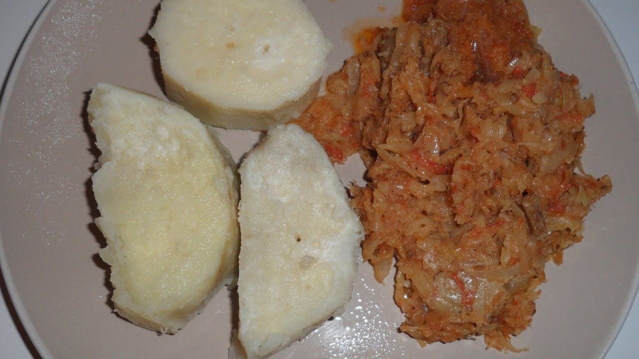 How to prepare Cabbage (Cameroon Style)