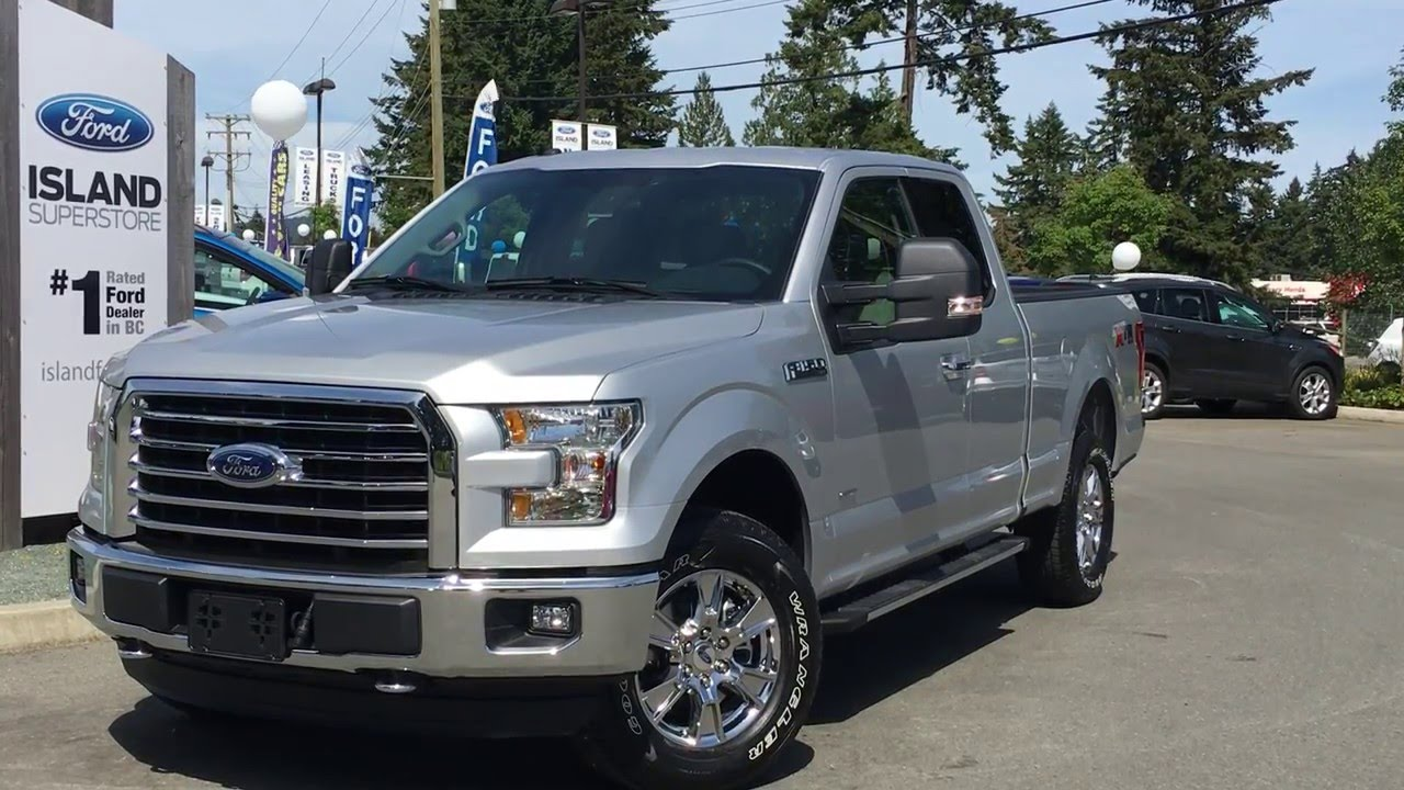 2016 ford f 150 xlt xtr supercab 4x4 review island ford. Black Bedroom Furniture Sets. Home Design Ideas
