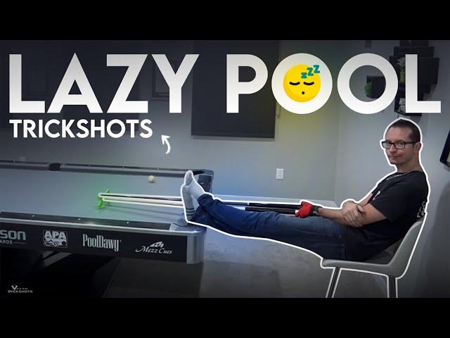 LAZY Pool Trick Shots 🥱🥱 - Venom Trickshots